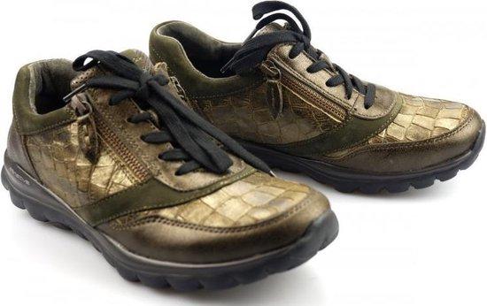 Gabor Rollingsoft Dames Lage sneakers – Groen – Maat 42