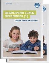 Delen 1 en 2  -  Begrijpend lezen oefenboeken Geschikt voor de IEP Eindtoets Deel 1 en 2