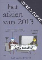 Boek cover Fokke & Sukke - Het afzien van 2013 van John Stuart Reid (Paperback)