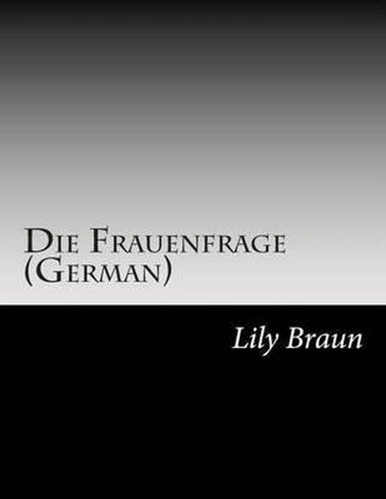 Omslag van Die Frauenfrage (German)