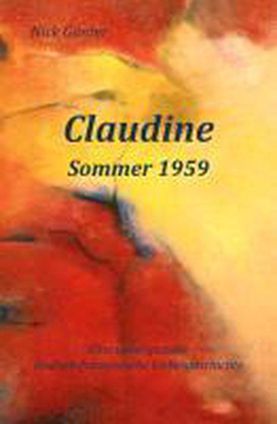Claudine - Sommer 1959