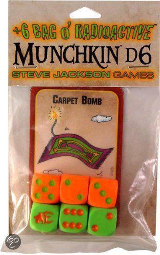 Thumbnail van een extra afbeelding van het spel +6 Bag O' Radioactive Munchkin d6