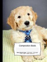 Goldendoodle Composition Notebook