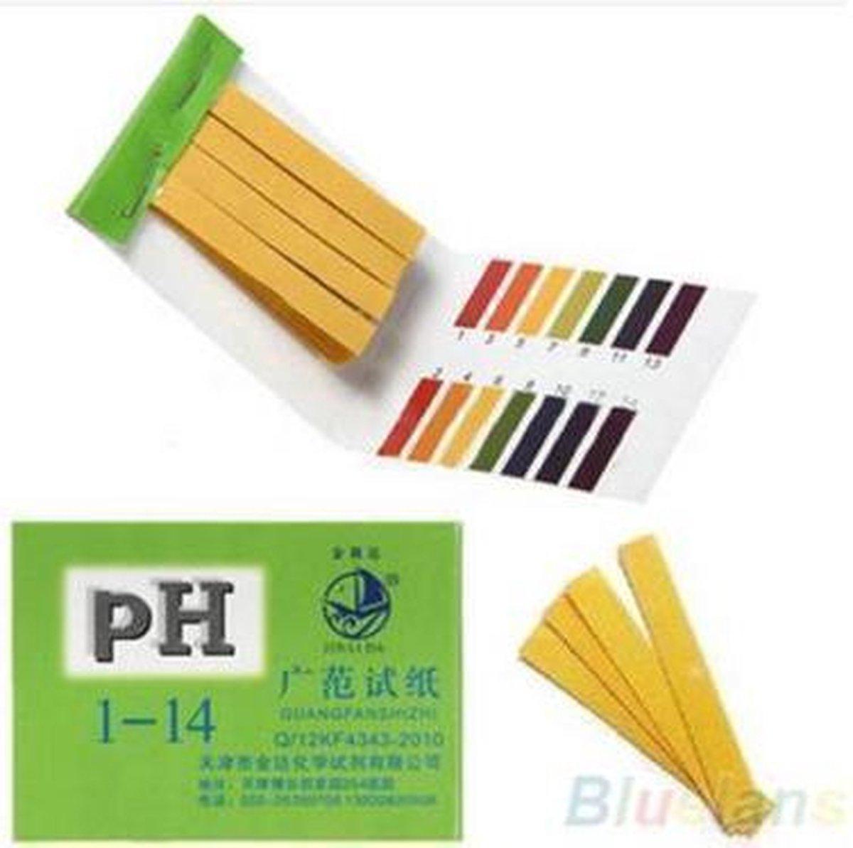 Ph Strips Lakmoes Papier Test Strips PH 1-14