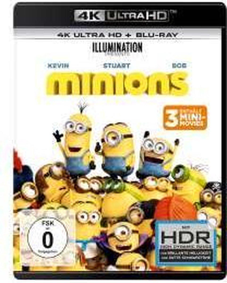 Minions (Ultra HD Blu-ray & Blu-ray)-
