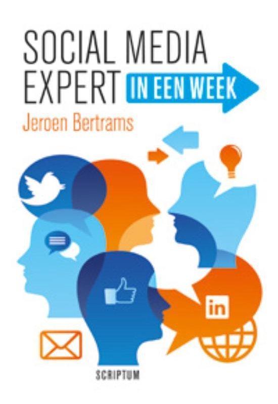 Boek cover Social media expert in een week van Jeroen Bertrams