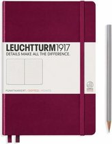 Leuchtturm1917 Notitieboekje Pocket A6 Dotted Port Rood