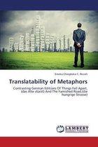 Boek cover Translatability of Metaphors van Ifesieh Emeka Chiegboka C