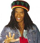 Jamaicaanse Bob muts voor volwassenen