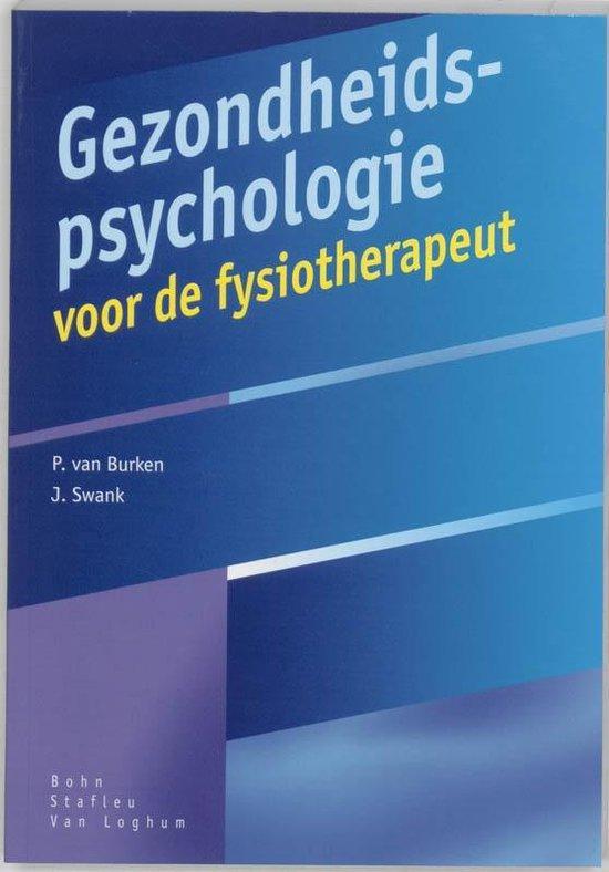 Gezondheidspsychologie voor de fysiotherapeut - P. van Burken pdf epub