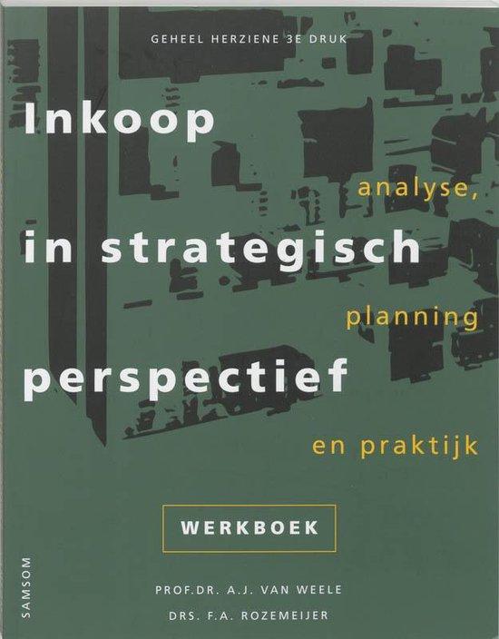 Inkoop in strategisch perspectief - A.J. van Weele pdf epub