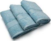Casilin Royal Touch - Handdoek 3 stuks - Ice Blue - 50 x 100 cm
