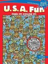 SPARK U.S.A. Fun Find It! Color It!