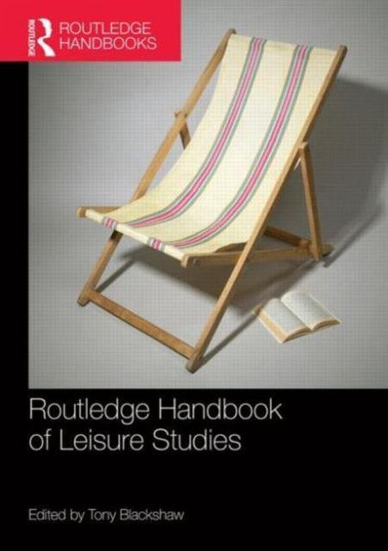 Afbeelding van Routledge Handbook of Leisure Studies