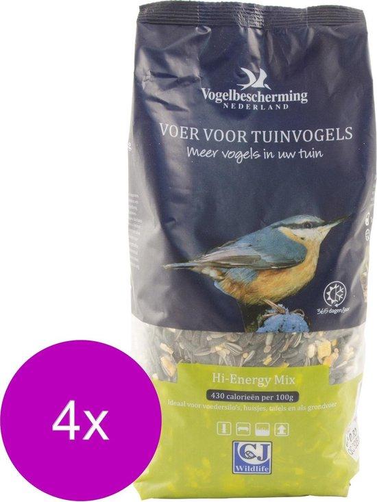 Wildbird Vogelvoeder Hi-Energy Mix - Voer - 4 x 1.75 l
