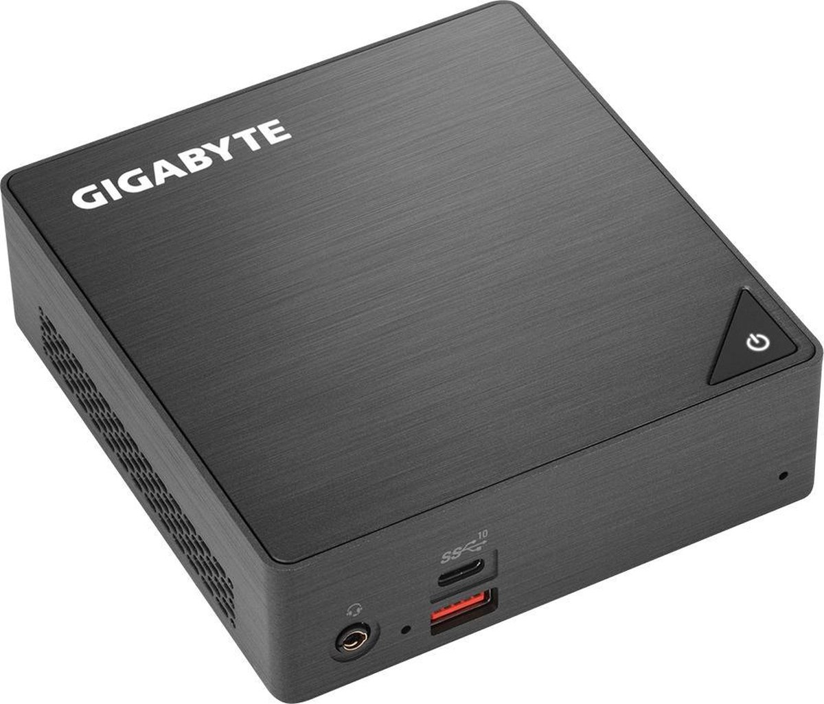 Gigabyte GB-BRI3-8130 PC/workstation barebone 0,46L maat pc Zwart i3-8130U 2,2 GHz