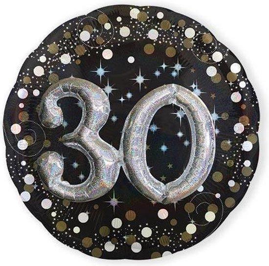 Folieballon 30 Birthday Sparkling Celebr