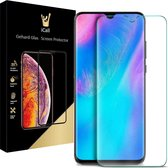 iCall - Huawei P30 Screenprotector - Tempered Glass Gehard Glas - Case Friendly