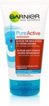 Garnier Skinactive Face PureActive Intensive Scrub Tegen Mee-Eters en Puistjes- 150ml - Scrub