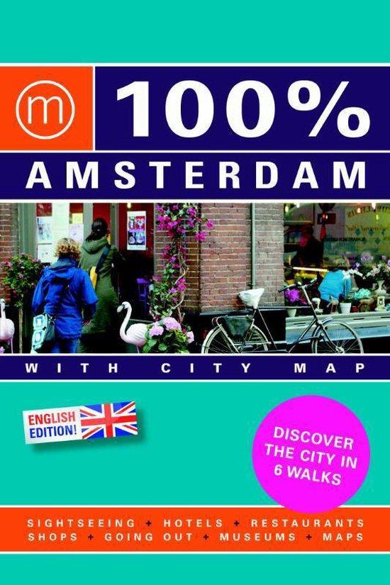 Cover van het boek '100% Amsterdam' van Toon Kramer