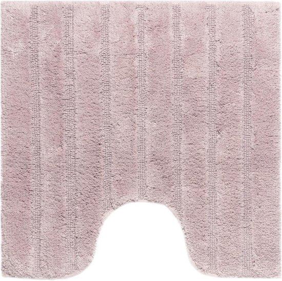 California Antislip WC-mat 59x59 Misty pink