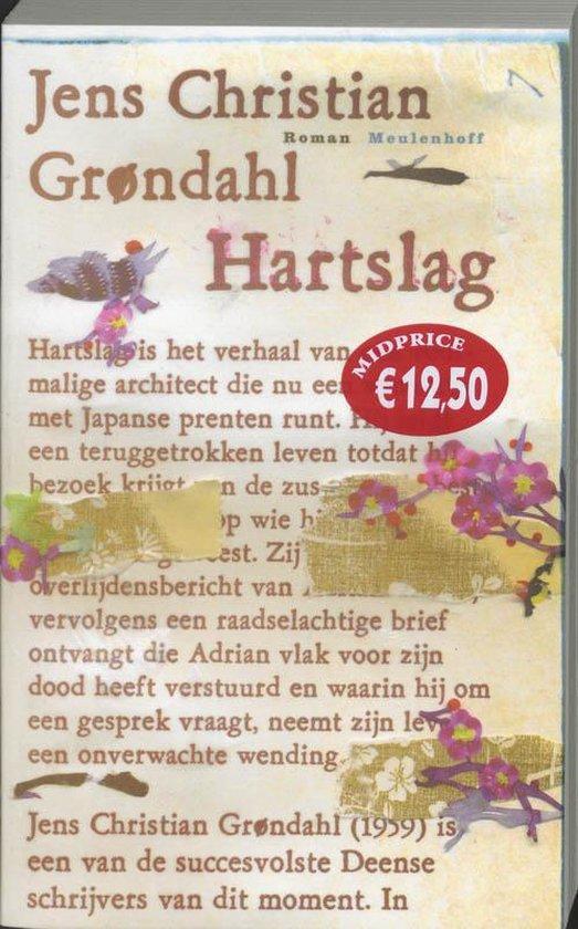Cover van het boek 'Hartslag' van J.C. Grondahl