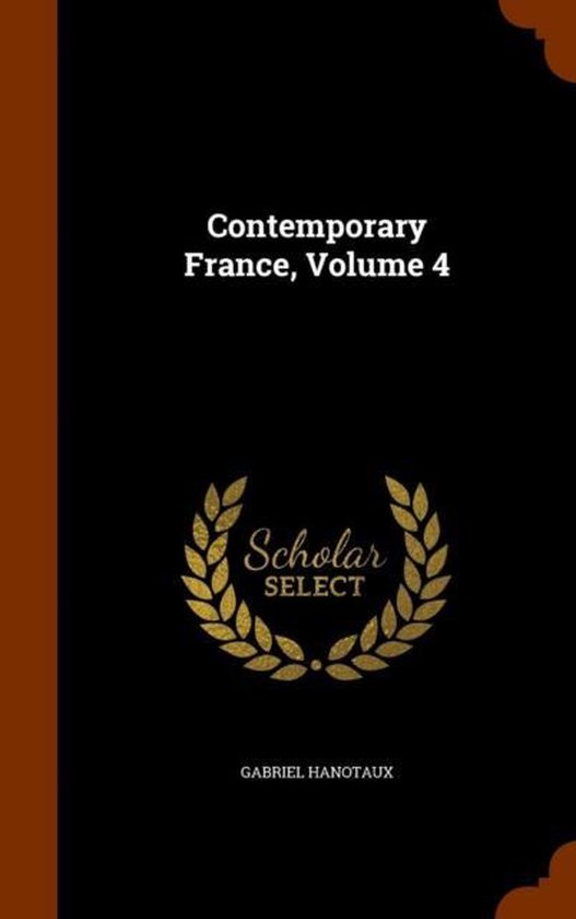 Contemporary France, Volume 4