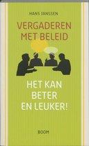 Boek cover Vergaderen met beleid van Hans Janssen