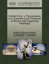 Omslag Emhart Corp. V. Pennsylvania U.S. Supreme Court Transcript of Record with Supporting Pleadings