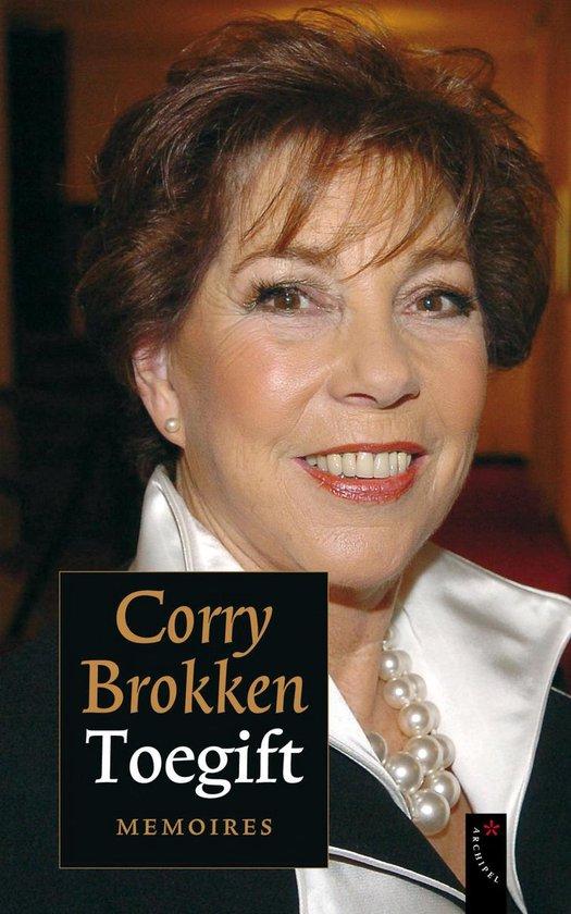 Boek cover Toegift van Corry Brokken (Onbekend)