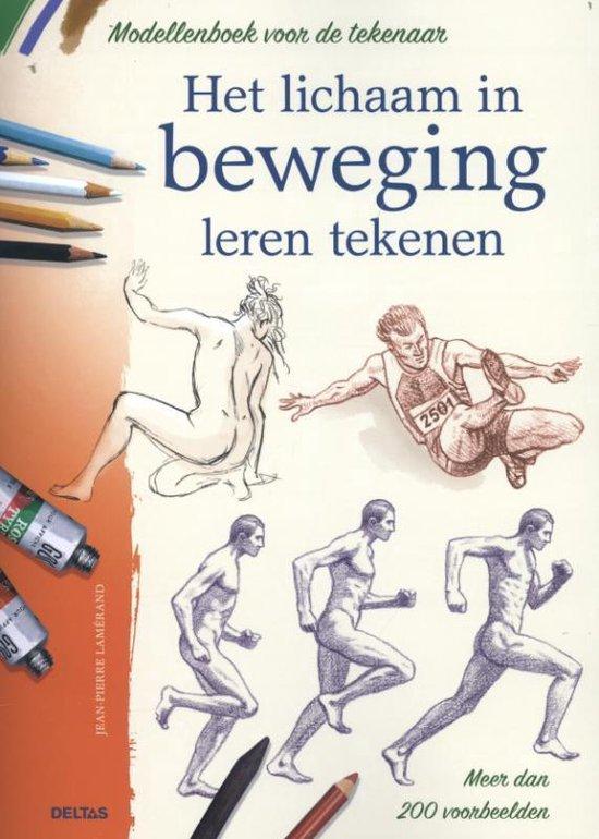 Modellenboek voor de tekenaar- Het lichaam in beweging leren tekenen - Jean-Pierre Lamérand |
