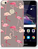 Huawei P8 Lite 2017 Uniek TPU Hoesje Flamingo