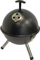 Kogelbarbecue - Tafelbarbecue - Ø32cm - zwart - BBQ - Barbeque - Houtskool