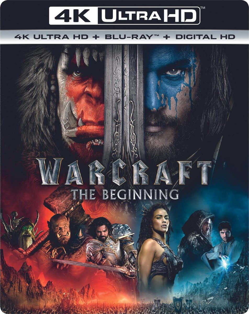 Warcraft: The Beginning (4K Ultra HD Blu-ray)-