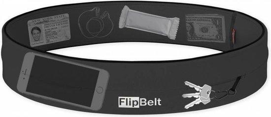Flipbelt Classic Donkergrijs - Running belt - Hardlopen - L