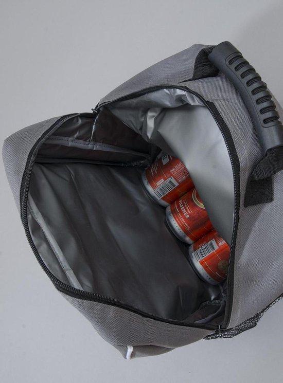 Koelrugzak Eddy - Koeltas / Rugzak - Grijs - 18 Liter