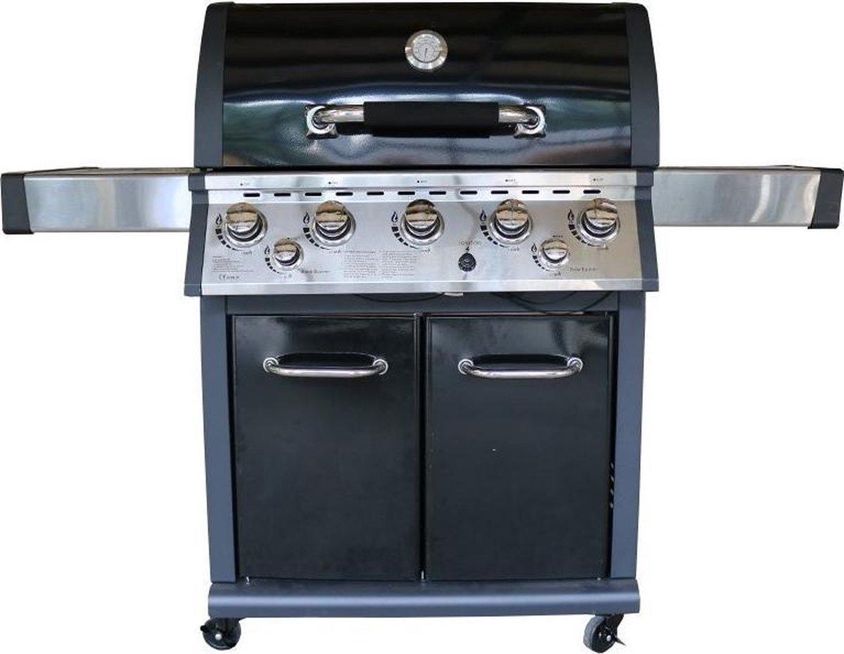 Fonteyn Arizona Barbecue - 5 branders - Zwart