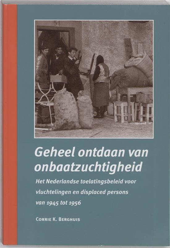 GEHEEL ONTDAAN VAN ONBAATZUCHTIGHEID - Corrie K. Berghuis |