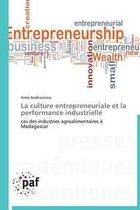 La Culture Entrepreneuriale Et La Performance Industrielle