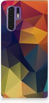 Huawei P30 Pro Standcase Hoesje Design Polygon Color
