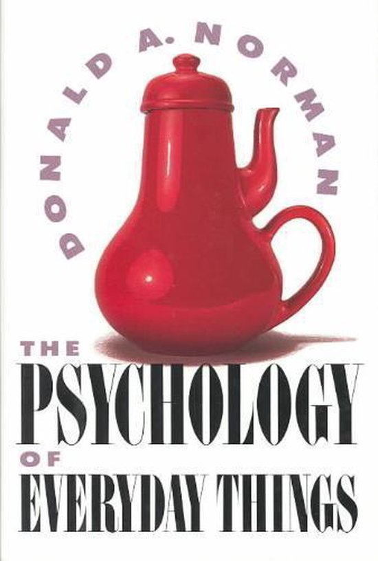 Boek cover The Psychology Of Everyday Things van Don Norman (Hardcover)