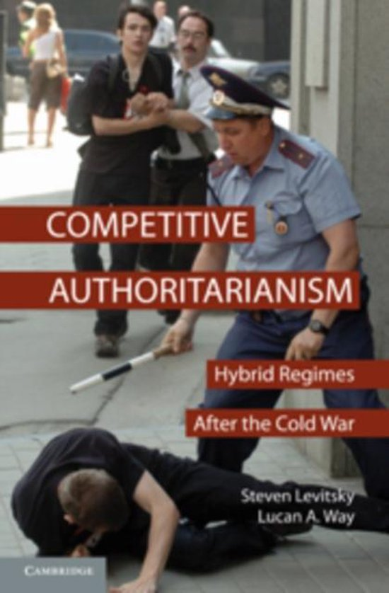Boek cover Competitive Authoritarianism van Steven Levitsky (Paperback)