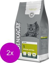 Denkacat Special Kitten - Kattenvoer - 2 x Kalkoen Rijst 2.5 kg
