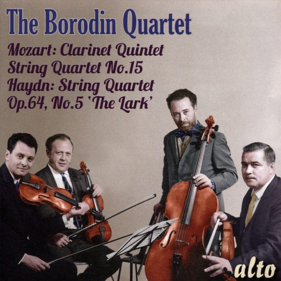 "Mozart: Clarinet Quintet; String Quartet No. 15; Haydn: String Quartet Op. 64, No. 5 ""The Lark"""