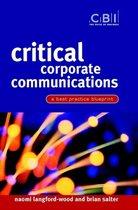 Critical Corporate Communications