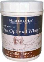 Pro-optimal whey, vanille smaak (540 g) - Dr Mercola