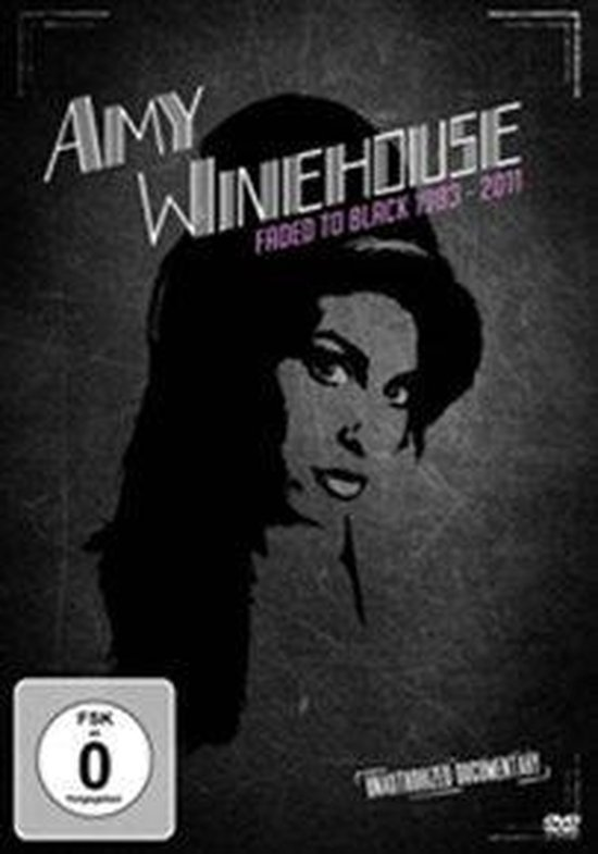 Cover van de film 'Amy Winehouse: Faded To Black 1983-2011'