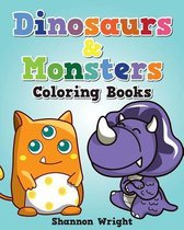 Dinosaurs & Monsters Coloring Book