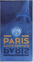 Paris Saint Germain Eiffel Toren - Strandlaken - 85 x 160 cm - Blauw