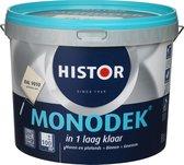 Histor Monodek - 10 liter - Muurverf - Gebroken Wit